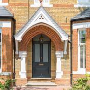 Vala Designs Front Door and Porch