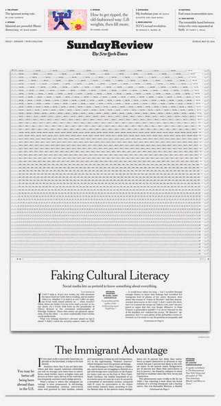 Faking Cultural Literacy