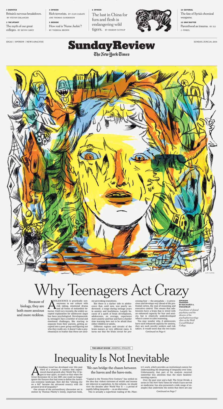 Why Teenagers Act Crazy