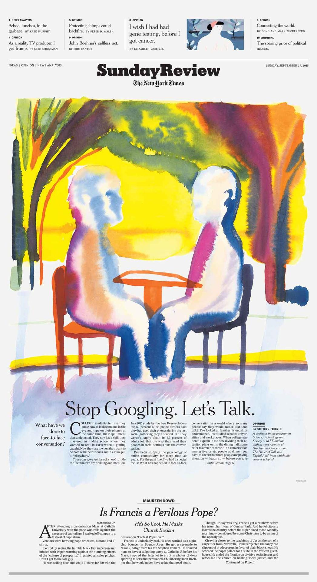 Stop Googling Lets Talk