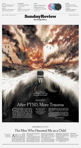 After PTSD More Trauma
