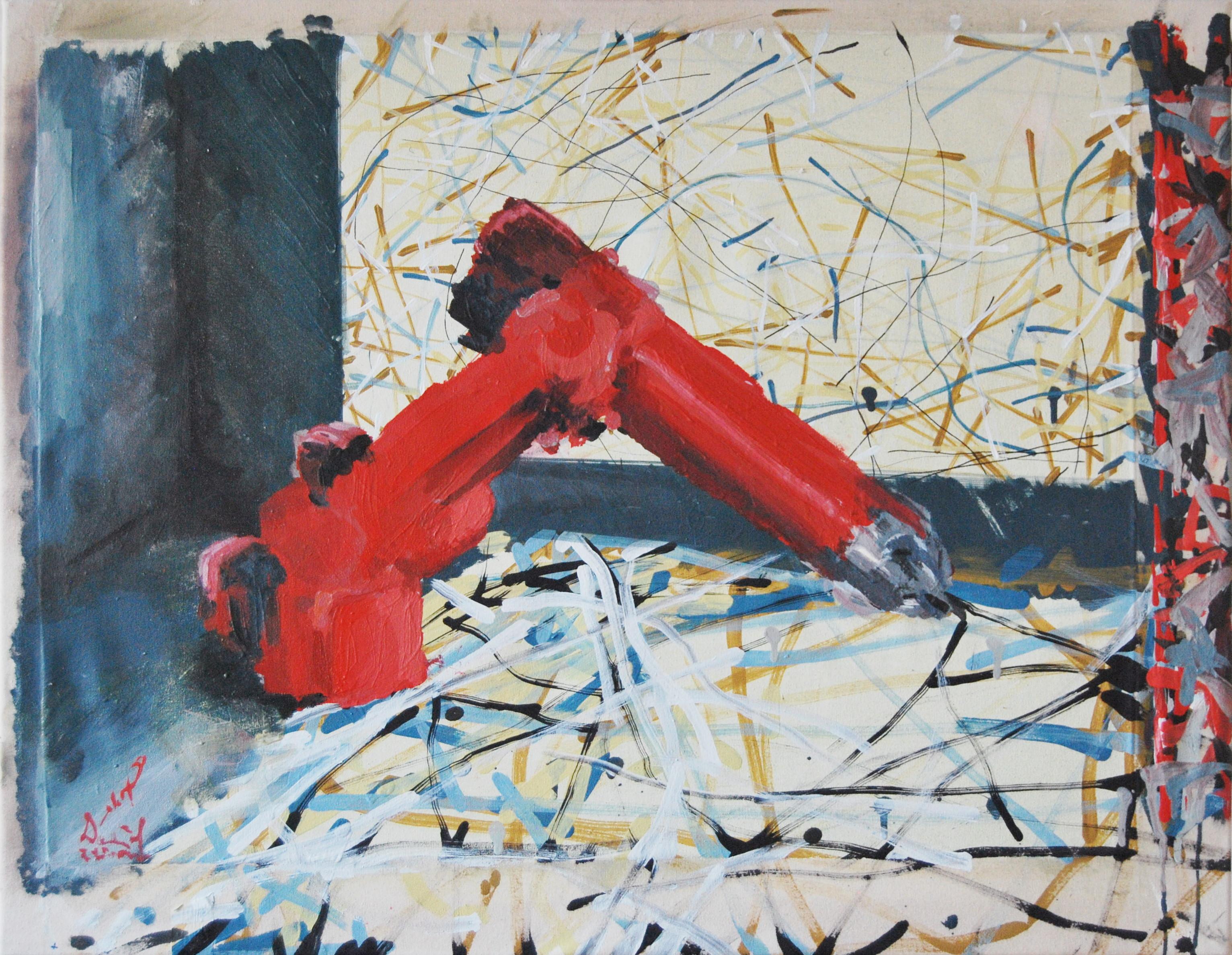Homage to Jackson Pollock