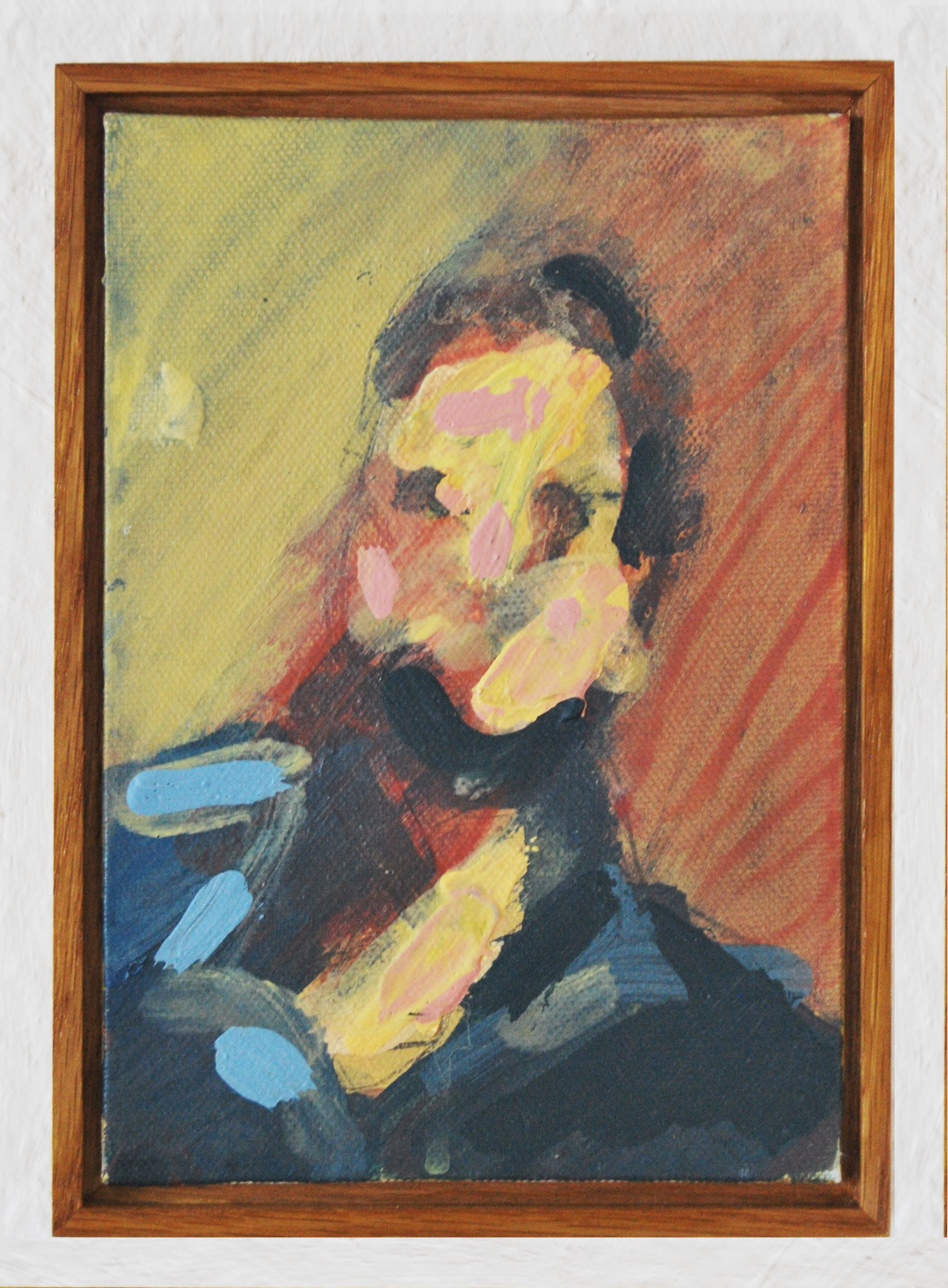 Study for Portrait of a Man by a Rob