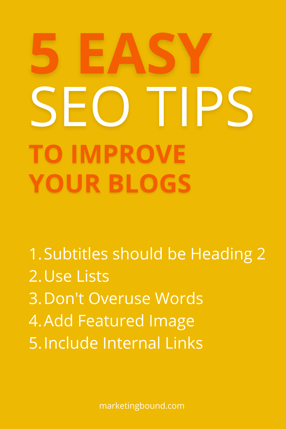 SEO tips for blogging