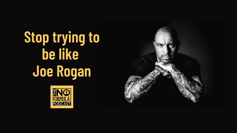7 Deadly Sins of Podcasting - Stop trying to be like Joe Rogan