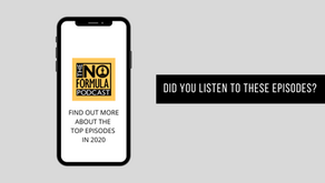 Top 5 Episodes on The No Formula Podcast in 2020