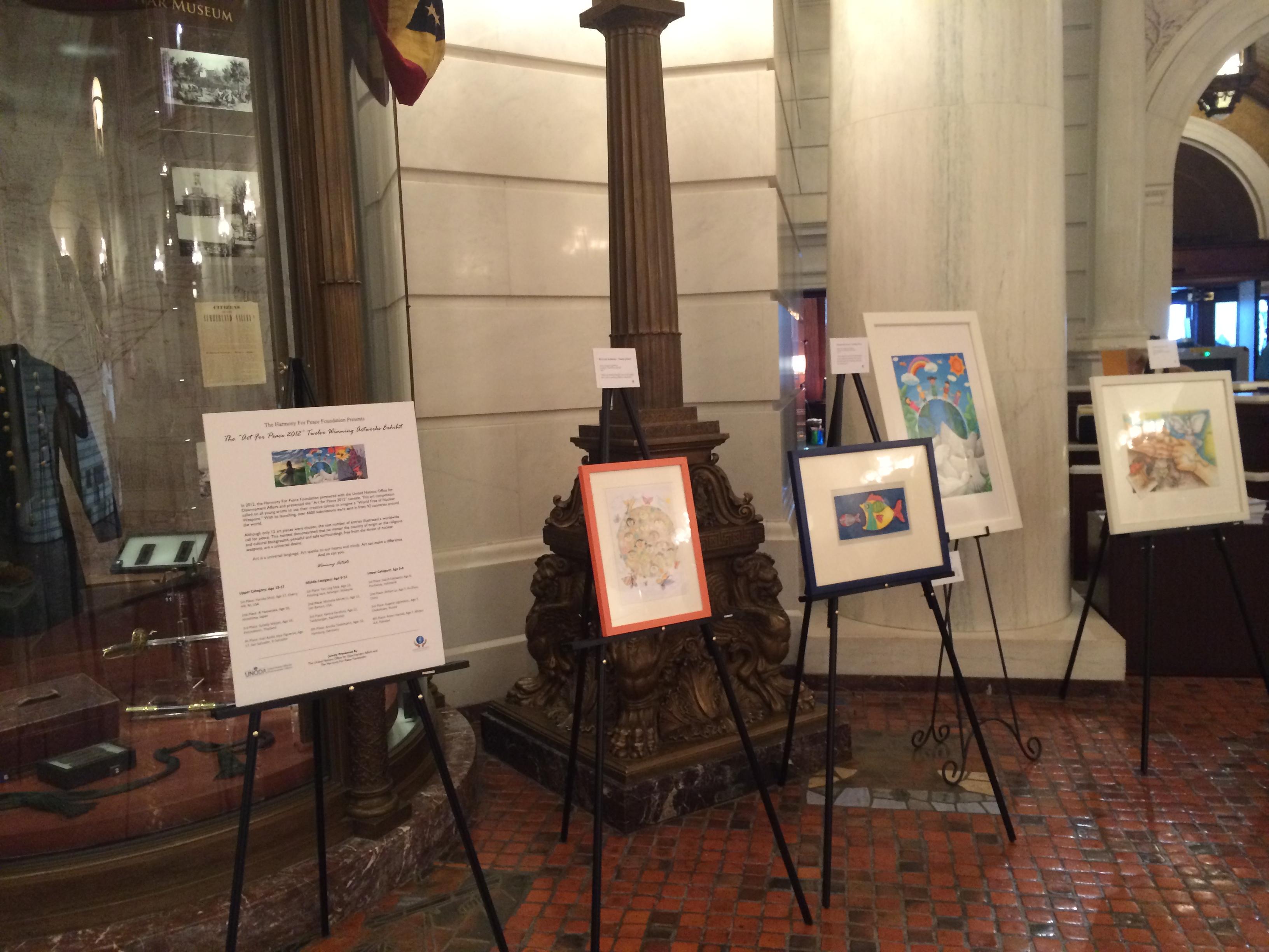 Artwork Displayed in Harrisburg