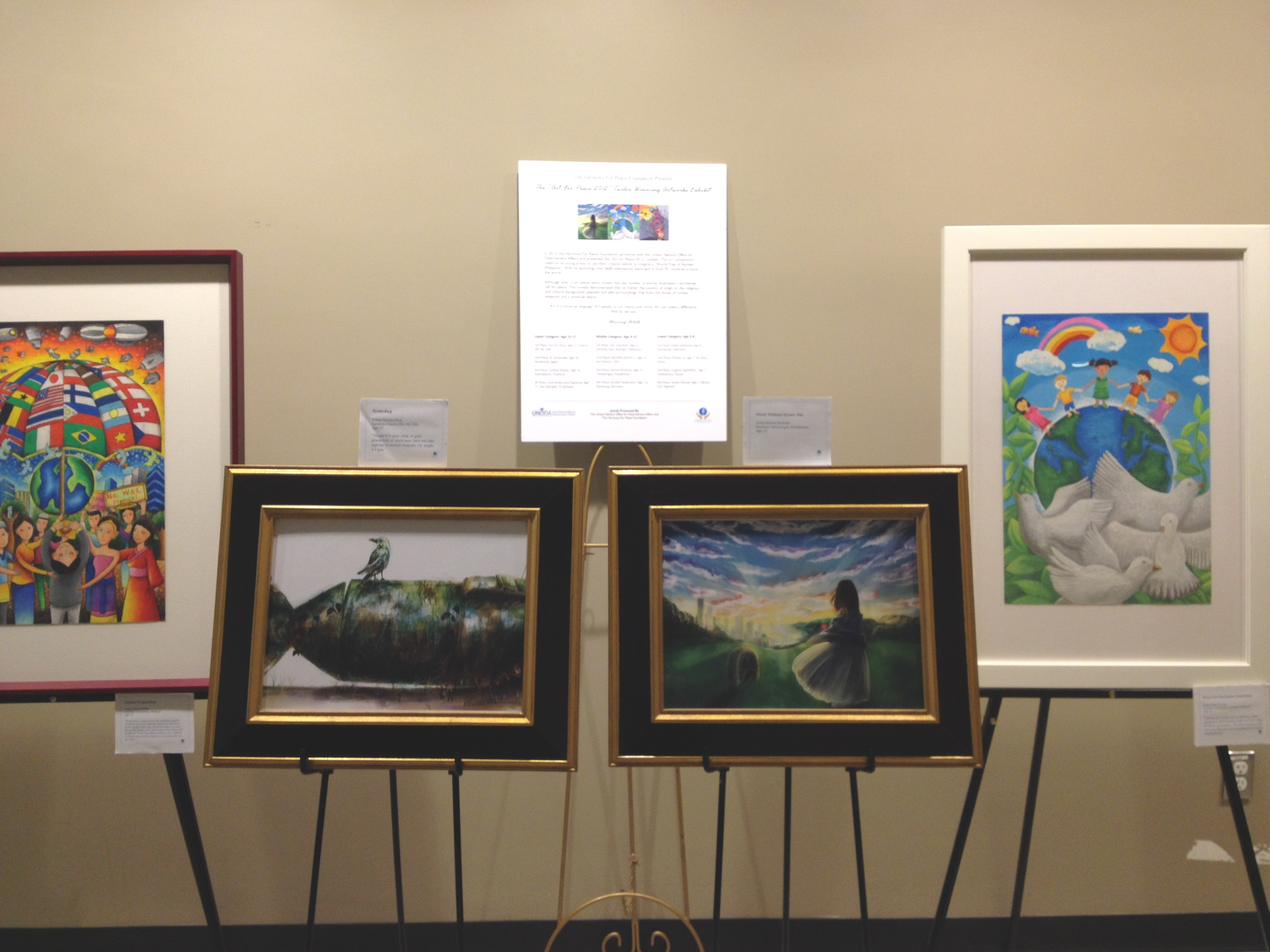 Winning Artwork at the UN