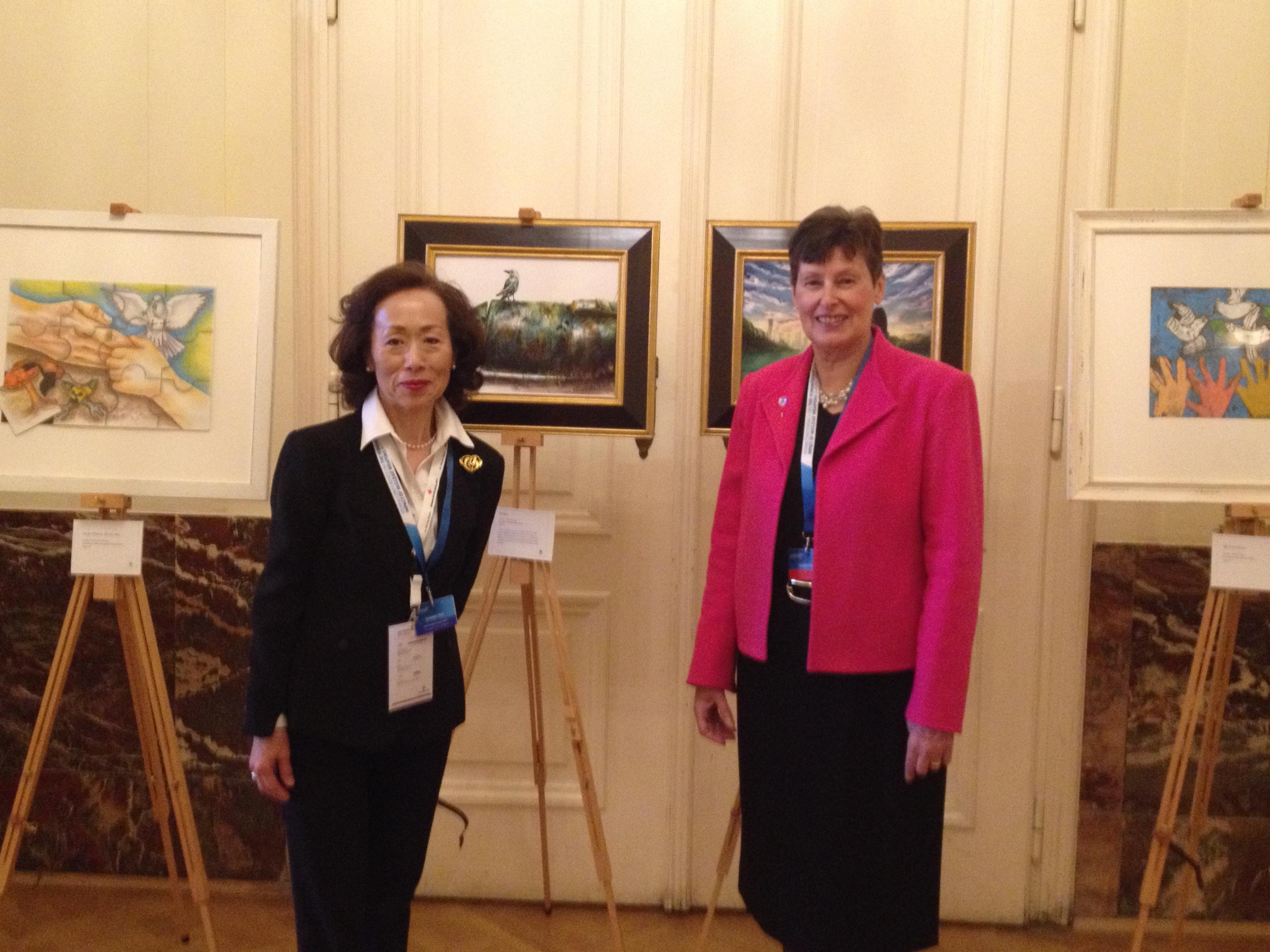 Ms. Torii and UN High Rep. Kane