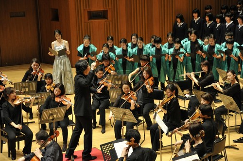 Finale with Conductor Reona Ito