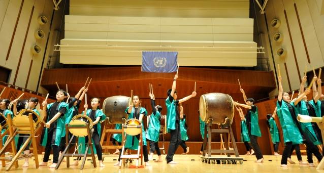 Japanese Traditional Drum Ensemble