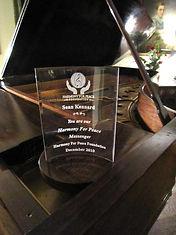 Peace Messenger Award