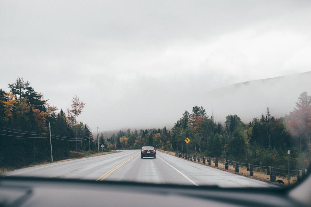 New Hampshire ---> Maine