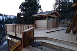 Custom Redwood Deck in Golden