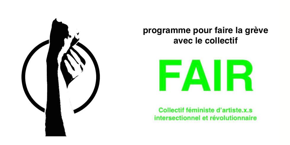 Permanence de création d'affiches féministes - ouverte à tous.x.tes