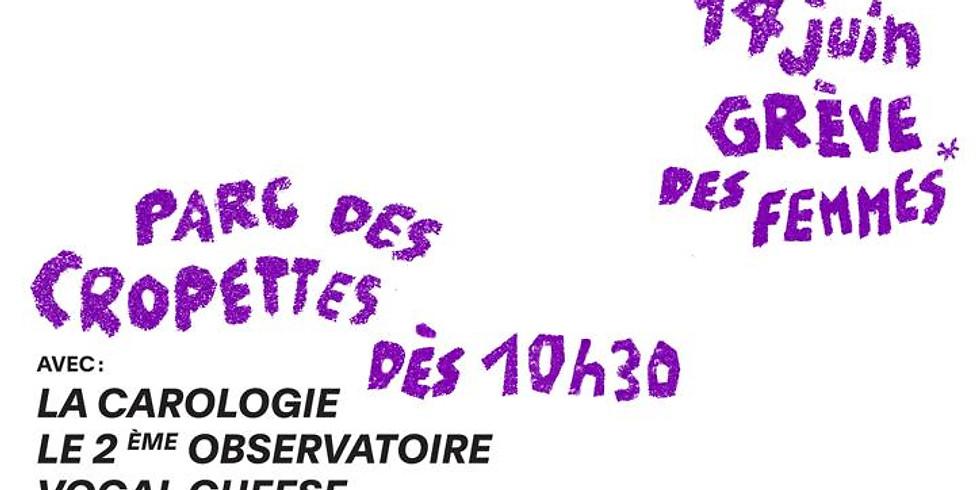 Les MEUFS : festival féministe aux cropettes