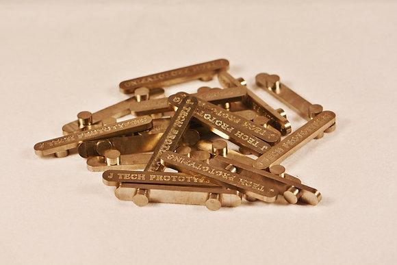 JTP Titanium 2-Peg Axle Key