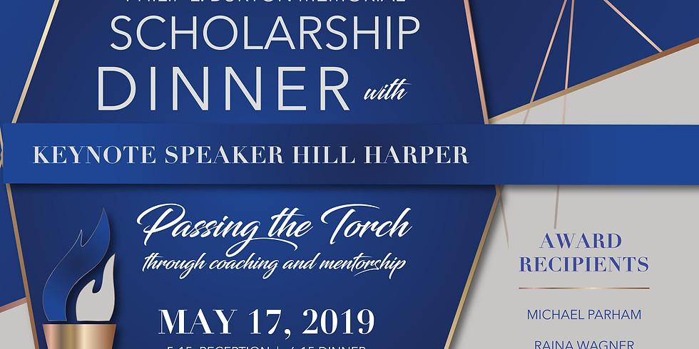 Philip L. Burton Memorial Scholarship Dinner Tickets