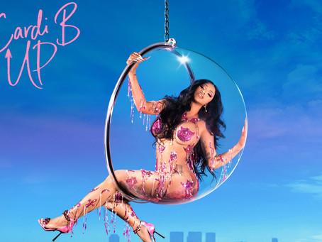 Cardi B promotes new single 'Up'