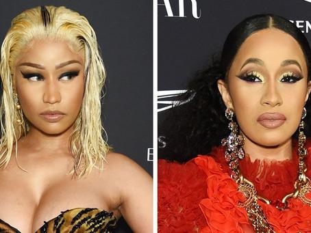 Rumor has it, Nicki Minaj and Cardi B end beef with collaboration 'Lavish'