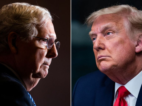 Mitch McConnell states that Rioters were sabotage and provoked by the President