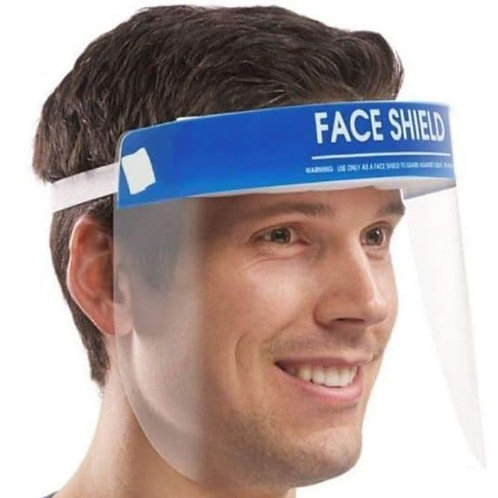 Face Shield – Bulk Pack of 10 Units