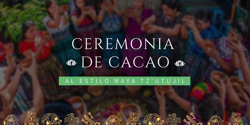 Ceremonia de Cacao al estilo Maya Tz'utujil