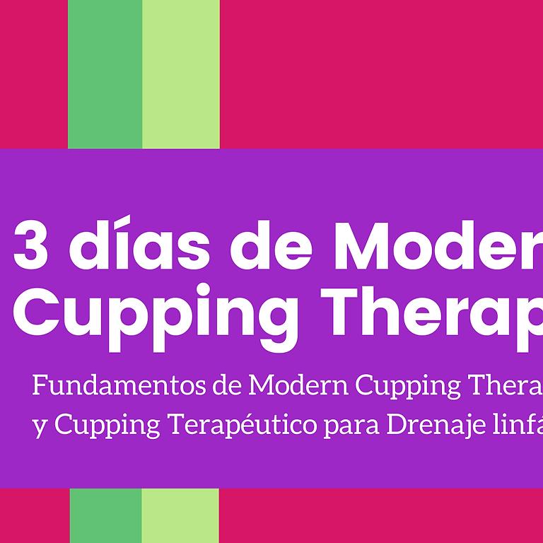 3 días de Modern Cupping Therapy