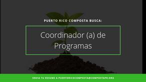Coordinador (a) de Programas