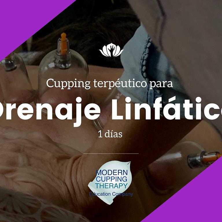Cupping terpéutico para Drenaje linfático