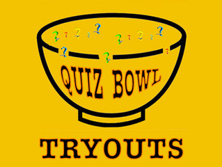 QUIZBOWL TRYOUTS