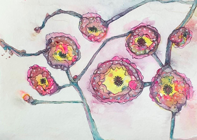 Covid Flowers #2