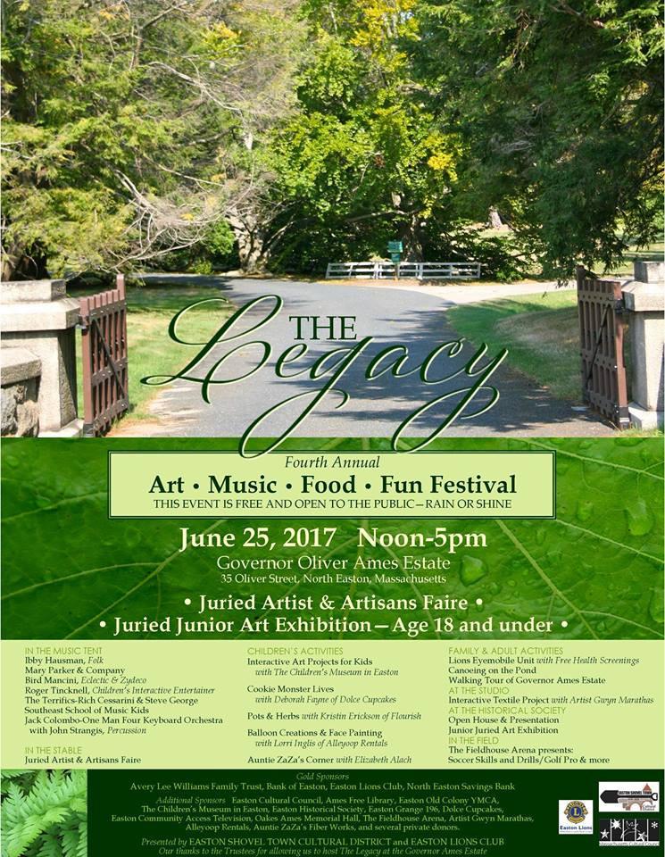 The Legacy Art-Music-Food-Fun Festival 2017