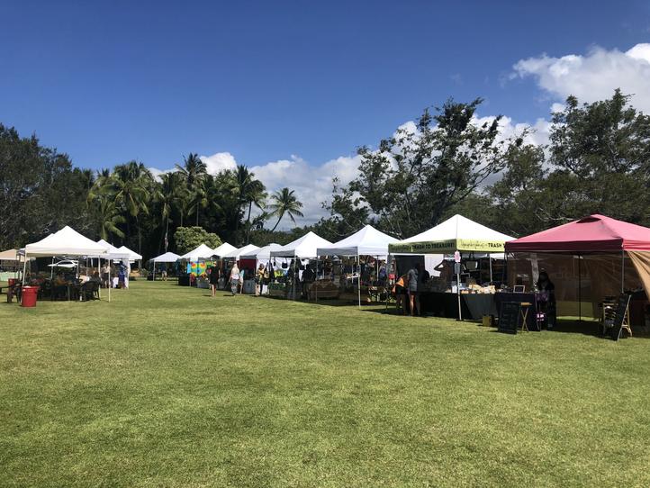 Supporting Big Island Farmer's Markets