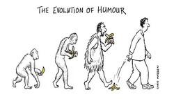 The Evolution of Humor