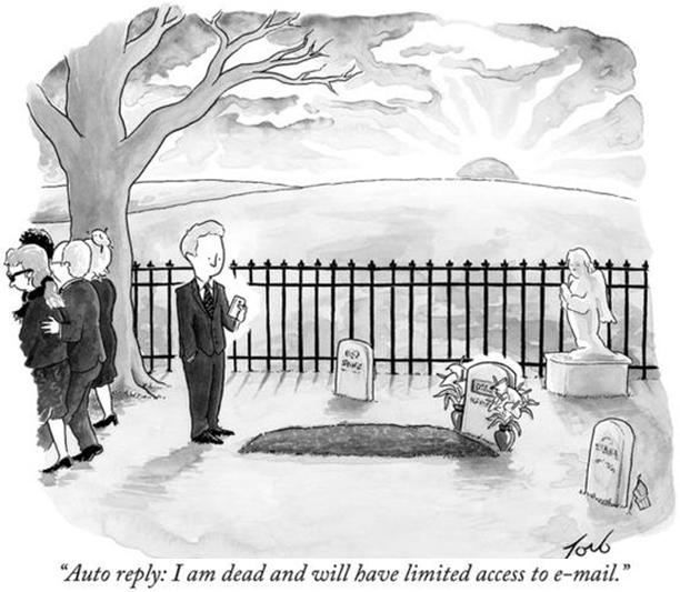 Funny Email Cartoon