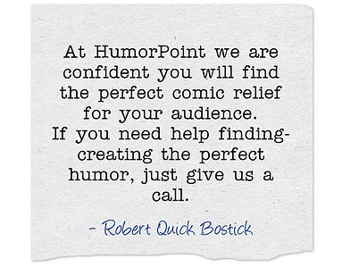 PowerPoint HumorPoint Presentation Services