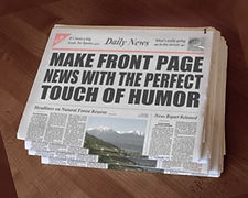 Funny News Paper Creator HumorPoint