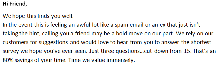 Funny Email Template