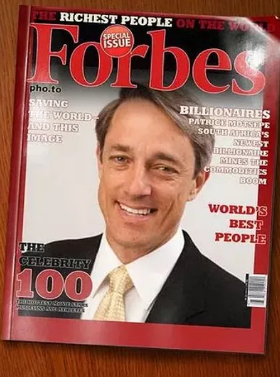 Funny Way to Get on the Cover of a Magazine