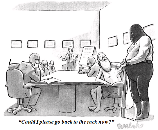 Funny Cartoon About Boring Presentations