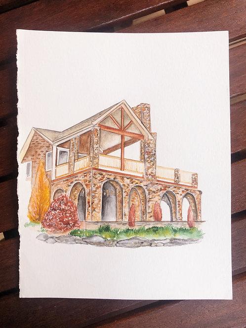 Venue/House Illustration
