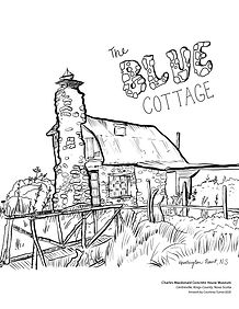 Charles Macdonald Blue Cottage Colouring