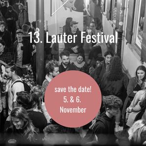 13. Lauter Festival am 5.-6. November