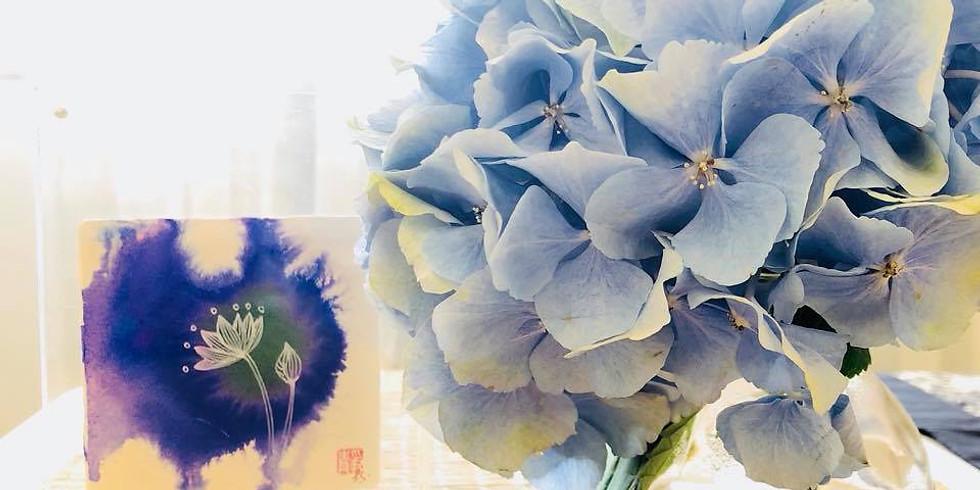 《愛蓮說》禪意彩繪私教工作坊  Lotus Love Painting with Meditation