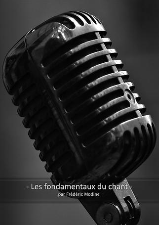 Les fondamentaux du chant (couverture)