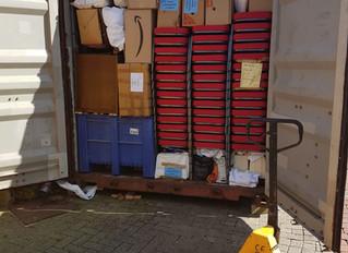 Der Container 2020 - Startverzögerung