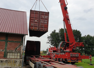 Verladung Container 2020