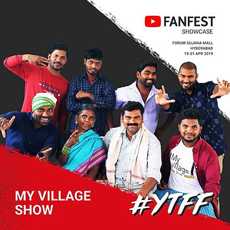 Gangavva on YouTube Fanfest Showcase-2019