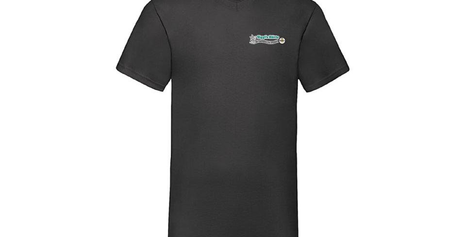 Herren T-Shirt Rundhals aus Baumwolle